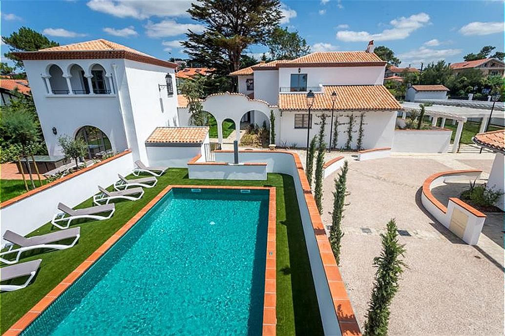 Odalys Biarritz 5p 8 Villas Milady for 8 guests in Biarritz, Frankreich