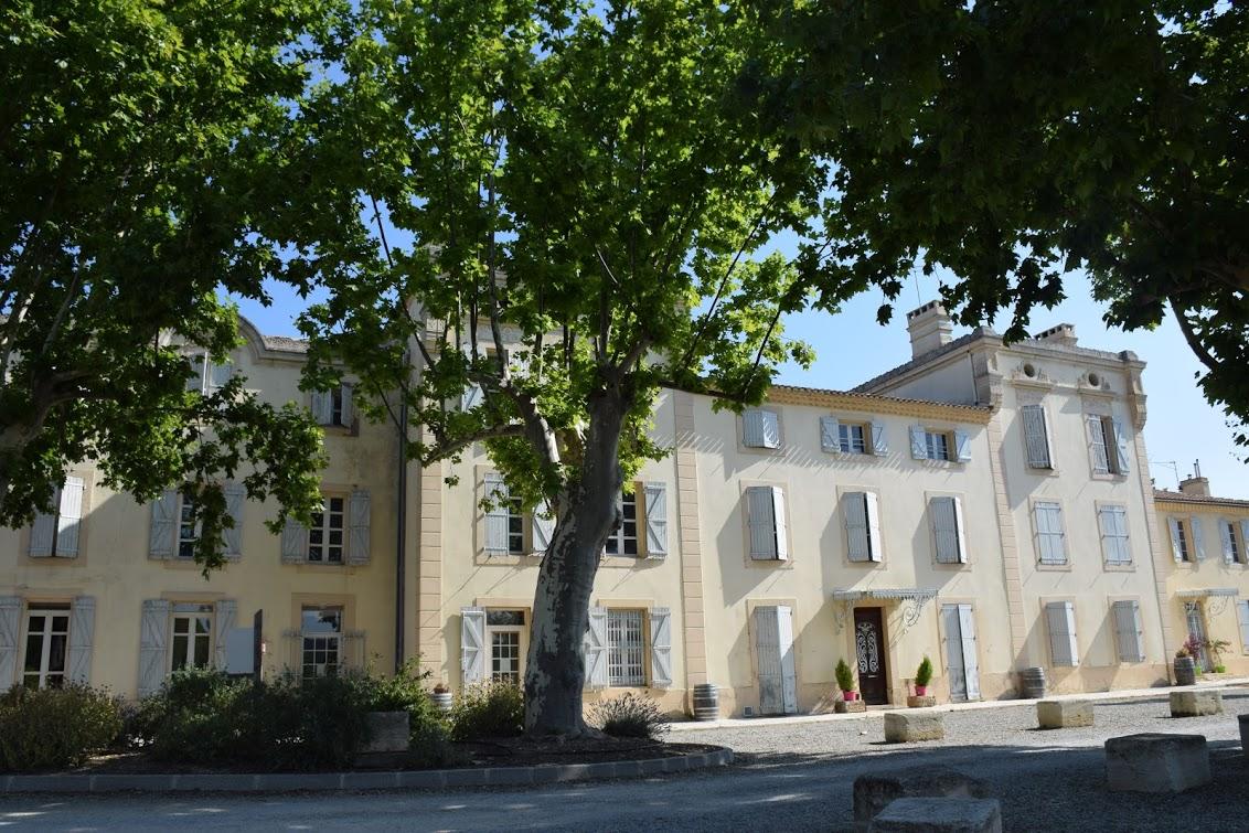 Château de Jouarres 2p C 4/5 for 5 guests in Azille, France