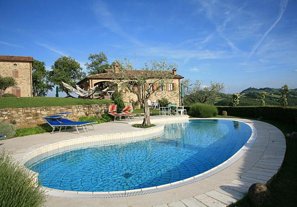 Citta di Castello, Italien Ferienwohnung #RU208643