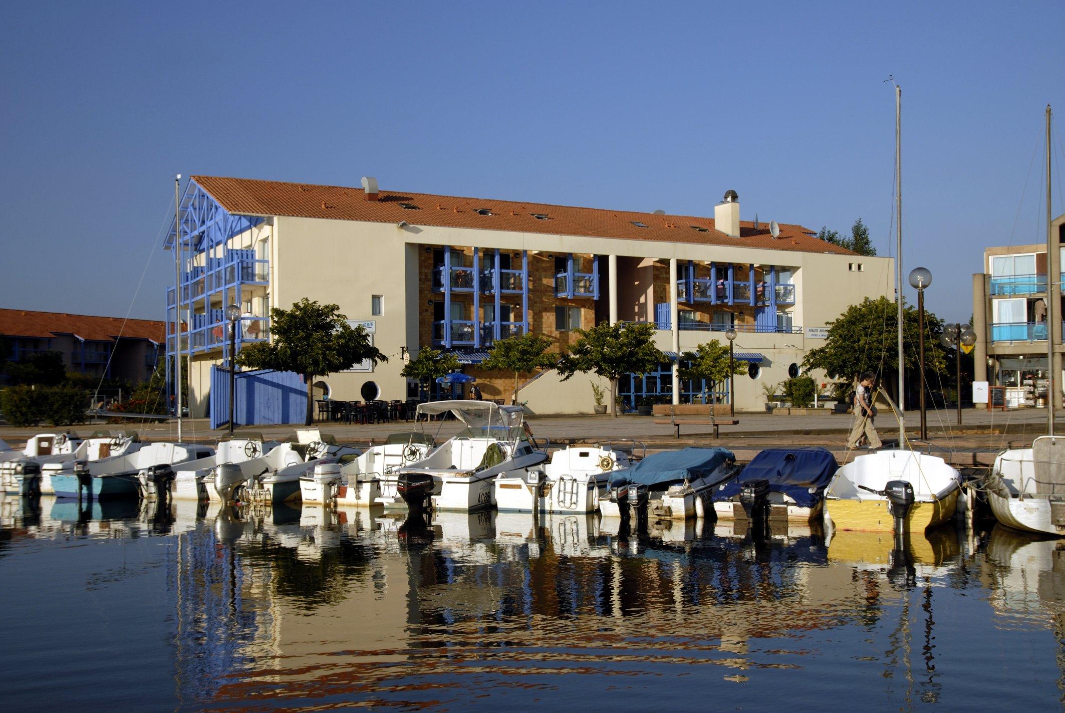 Odalys Hourtin 2p 2/4 Duplex Du Port for 4 guests in Hourtin, Frankreich