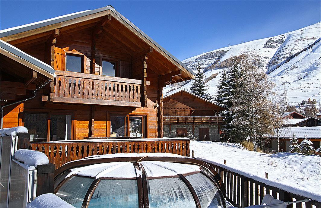 Chalet Soleil Levant in Les Deux Alpes - Rhone Alpen, Frankrijk foto 656590