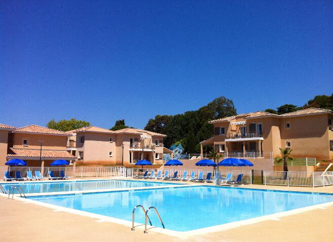Odalys Les Maures 2p 4p Oceanides for 4 guests in La Londe les Maures, Frankreich