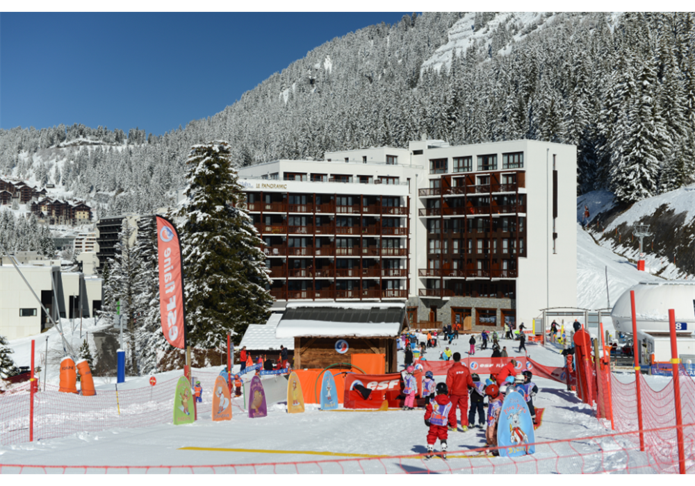 Odalys Flaine 2pC 6 Le Panoramic for 6 guests in Flaine, Frankreich