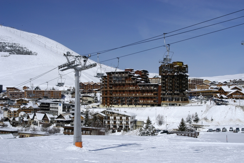 L'Ours Blanc S4 for 4 guests in Alpe d Huez, Frankreich
