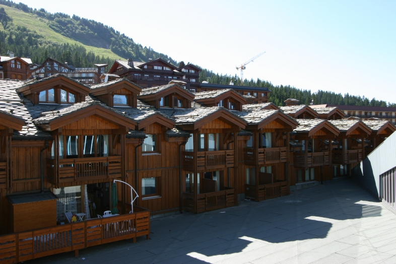 Les Chalets du Forum 2p 4p. for 4 guests in Courchevel, France