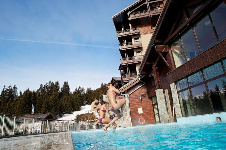 Les Terrasses d'Eos 3p 6p Superior for 6 guests in Flaine, France