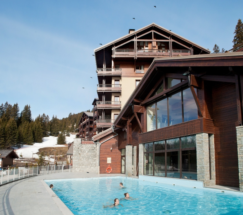 Les Terrasses d'Eos 2p 4p Superior for 4 guests in Flaine, France