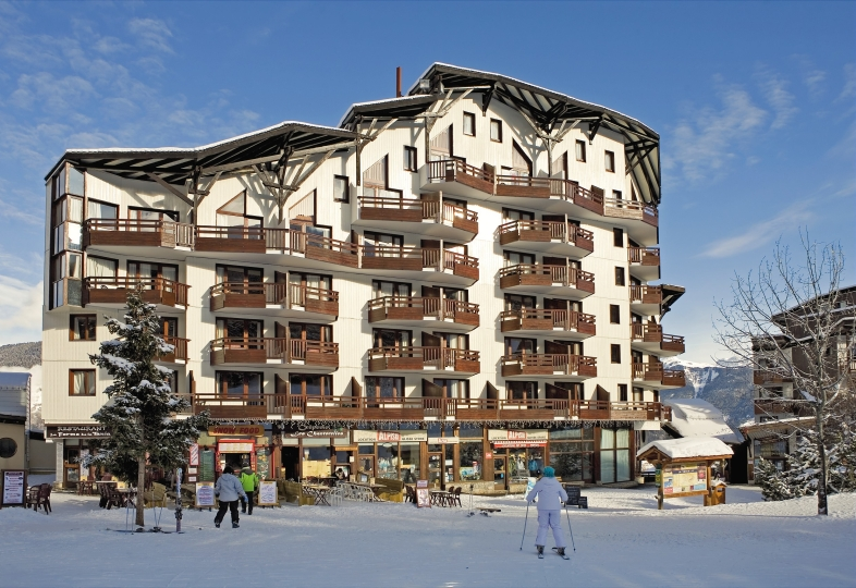 Le Christiana 3p 7/8p Duplex for 8 guests in Courchevel, France