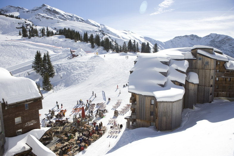 Sépia 2p 4/5 for 5 guests in Avoriaz, France