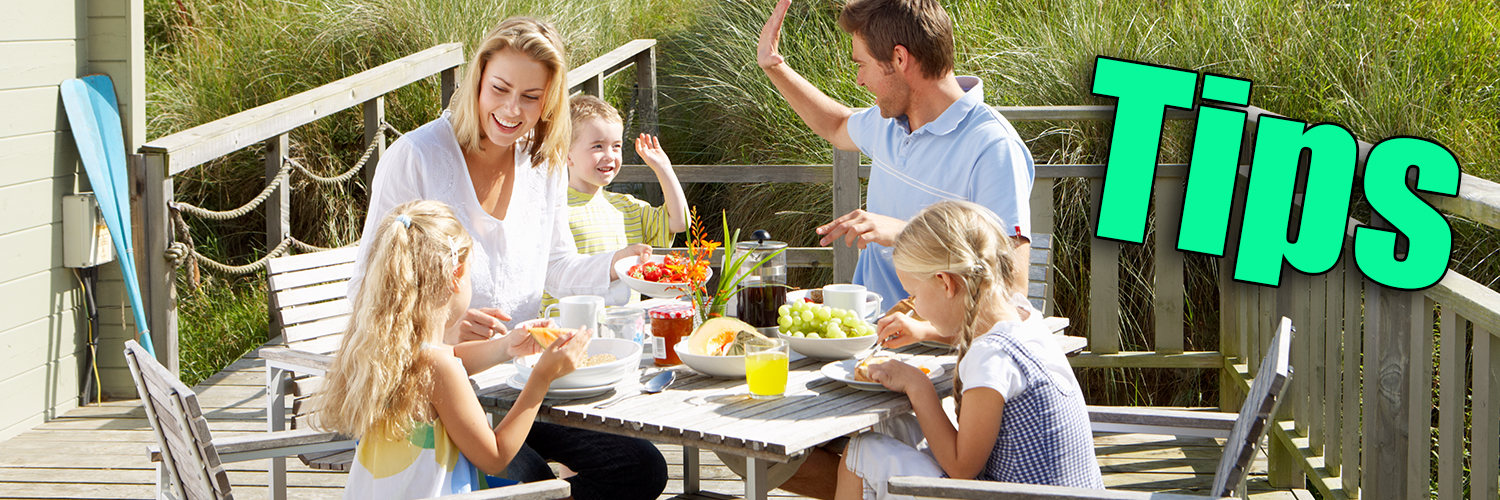 holiday home with family booking tips