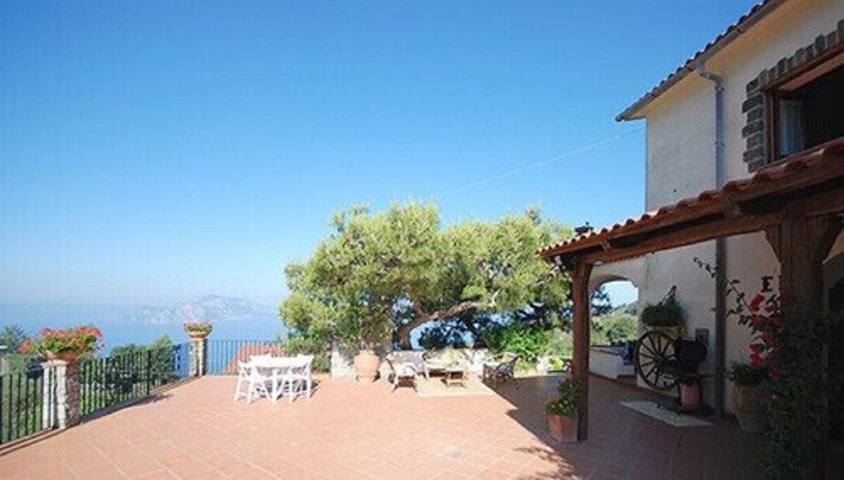 Villa Posidonia 2 with Sea View, Swimmin