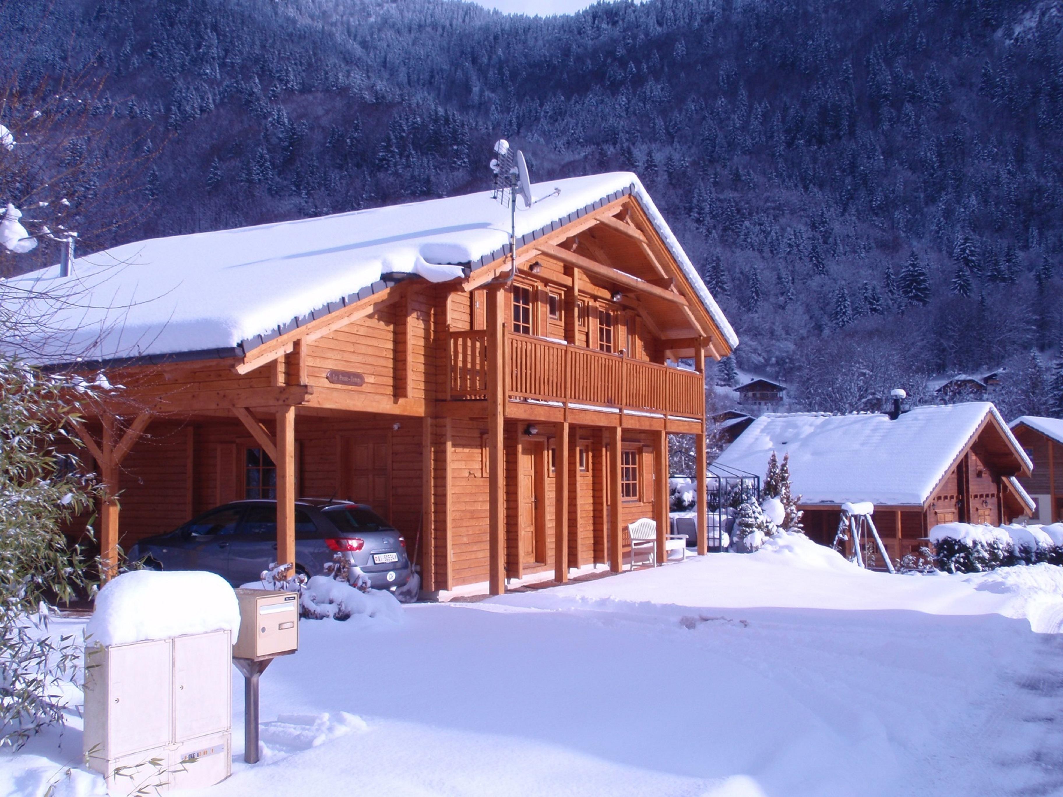 Villa Chalet Le Passe-Temps Saint Jean d Aulps 1