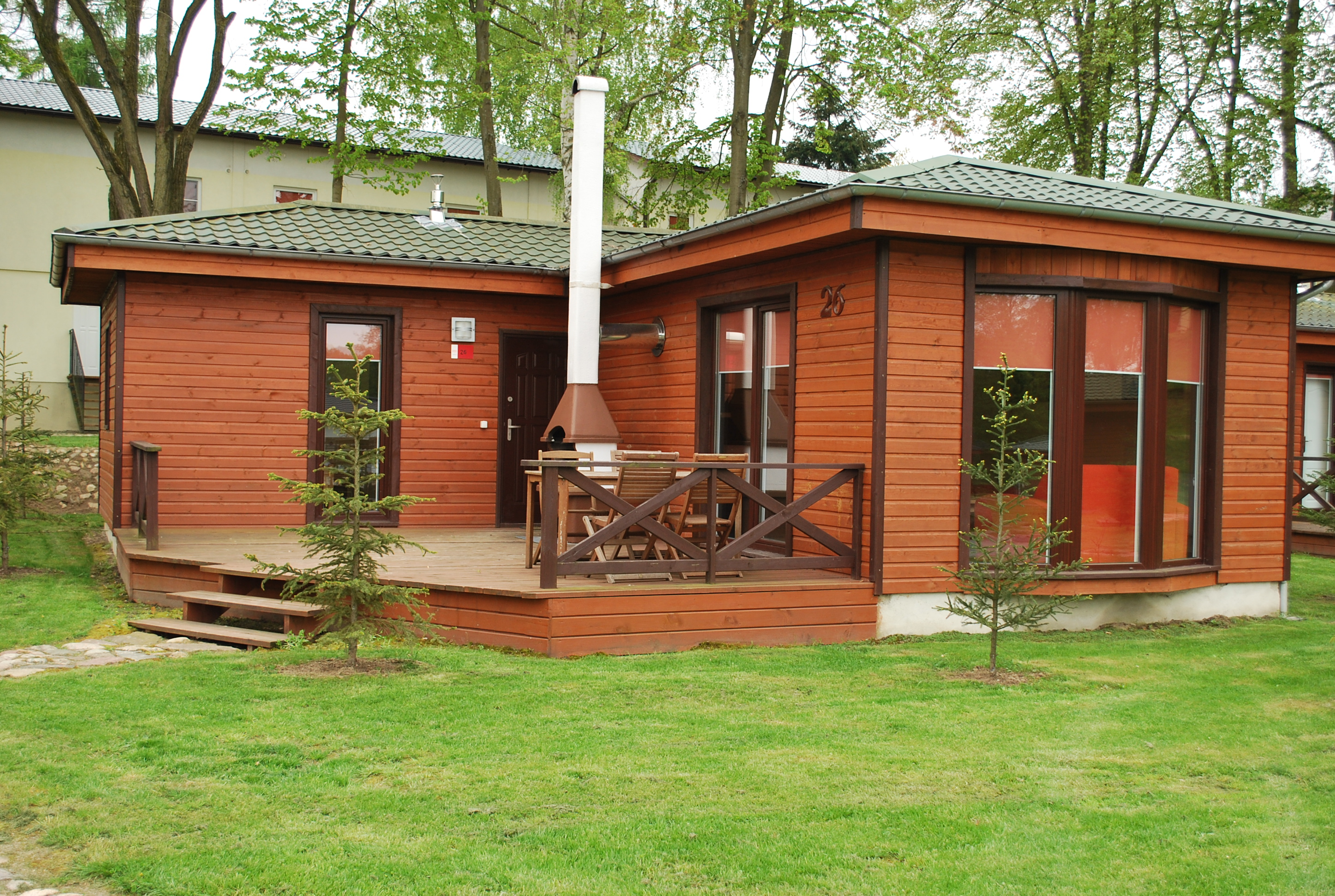 Casa vacanze 4 persoons Bungalow L Lagow 1