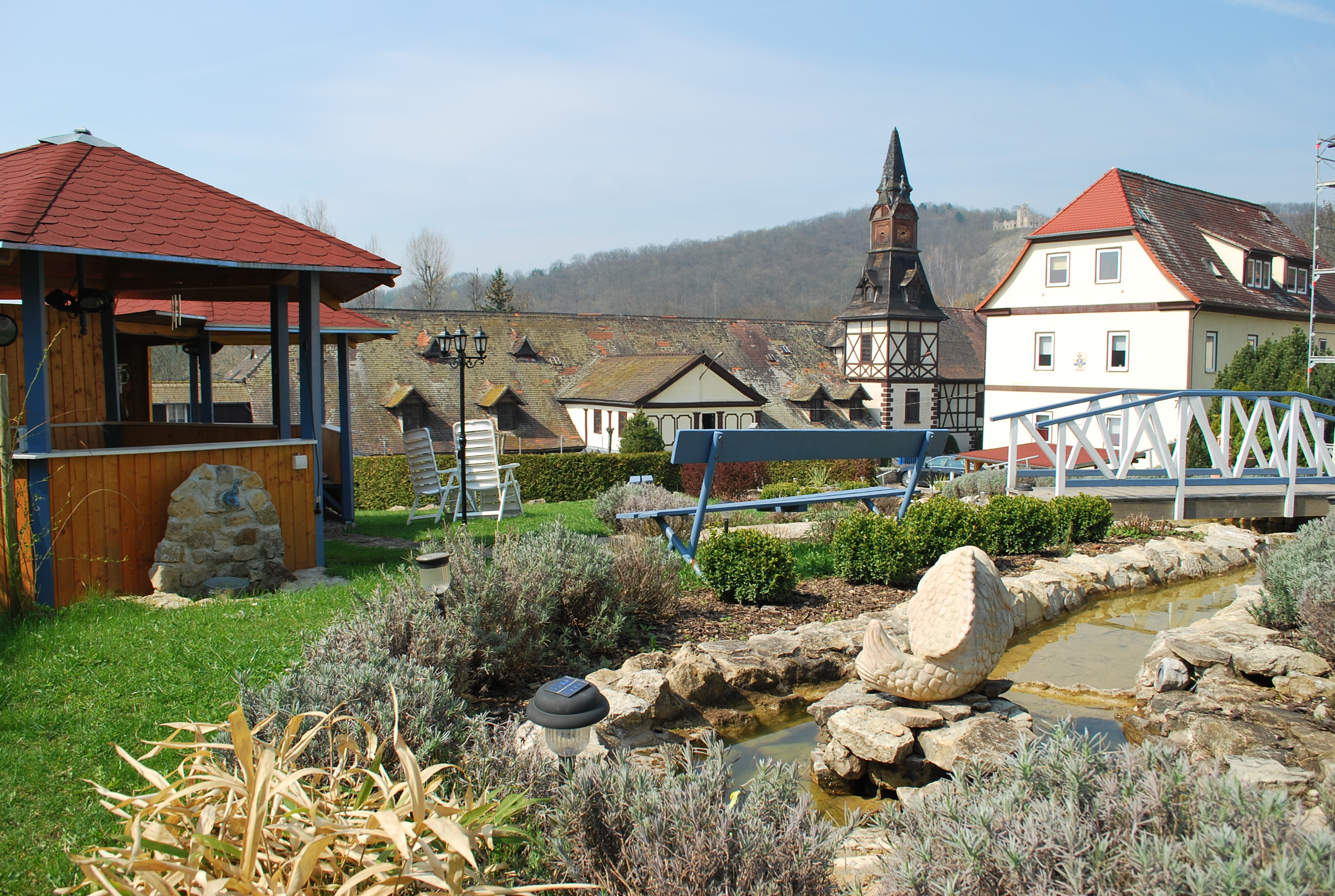 Holiday apartment Seepferdchen (2 Pers- 20m2) (421799), Bad Sulza, Weimar Country, Thuringia, Germany, picture 1