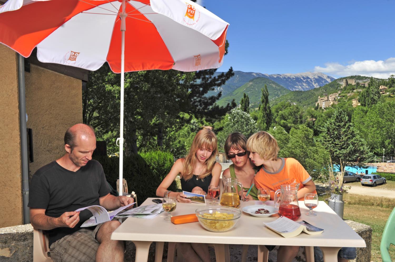 Holiday park Drome Provencale Montbrun Les Bains 4p7 Montbrun les Bains 1