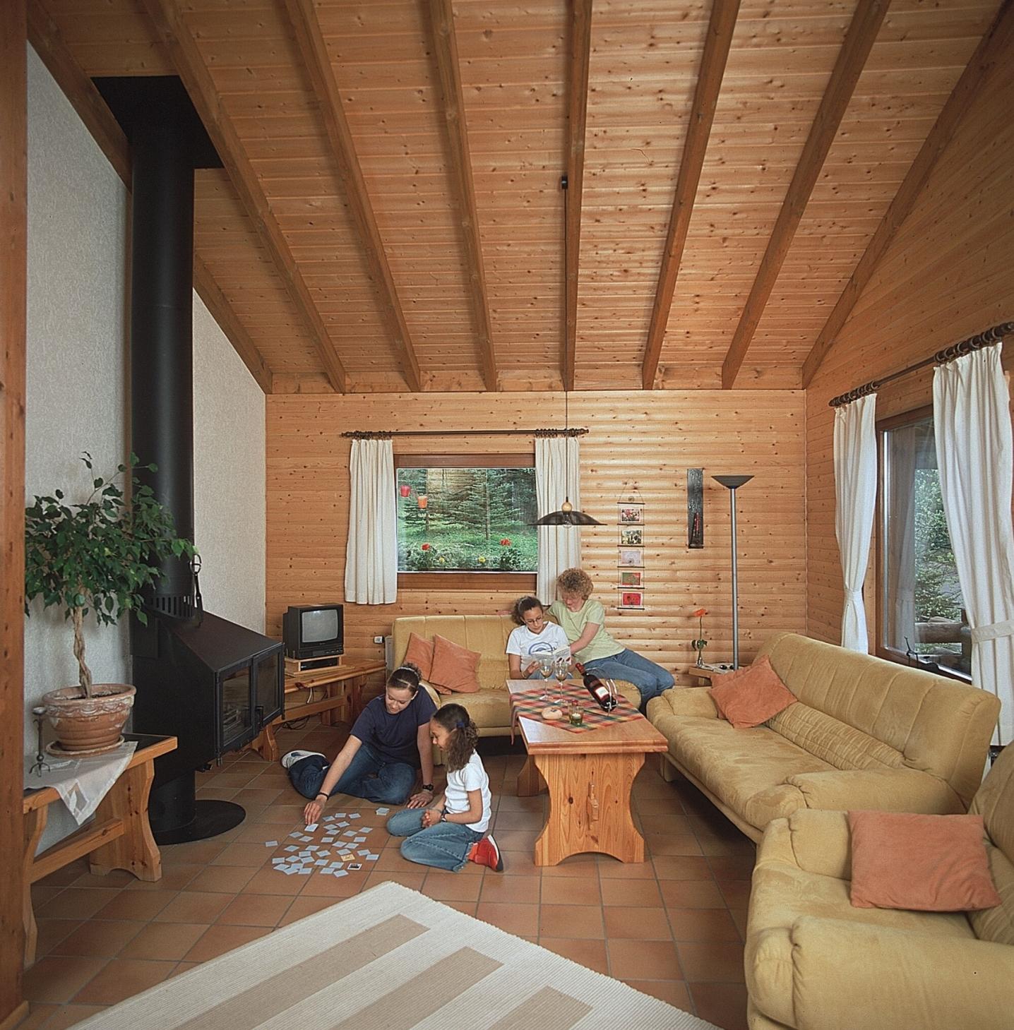 Ferienwohnung Haus 1 - Typ B (Blockhaus) (479938), Schönecken, Südeifel, Rheinland-Pfalz, Deutschland, Bild 3