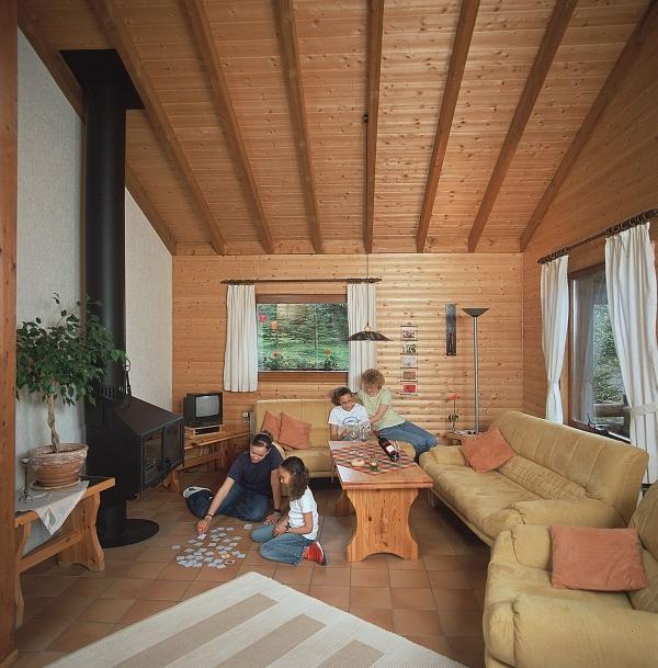 Ferienwohnung Haus 1 - Typ B (Blockhaus) (479938), Schönecken, Südeifel, Rheinland-Pfalz, Deutschland, Bild 2