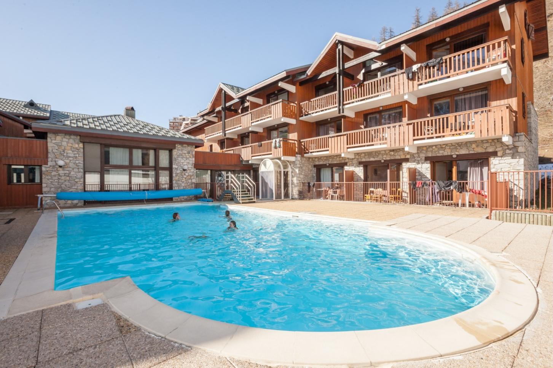 Vakantiepark Les Chalets de Solaise S2/3p Val d Isere 1