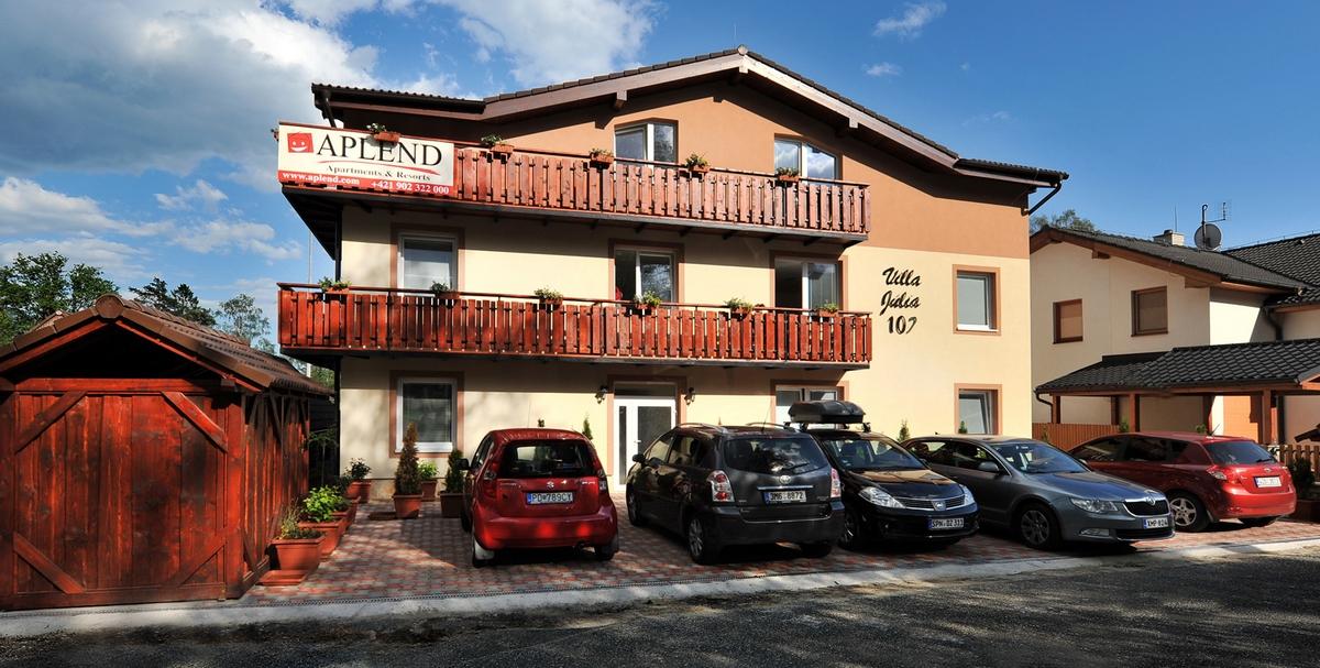 Appartement Depandance Julia Apartment B Tatranská Lomnica 1