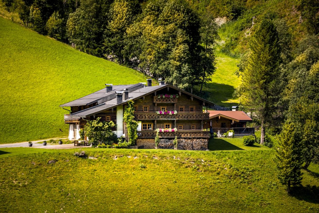 Maroldenhof Chalet Bascht Salzburgerland