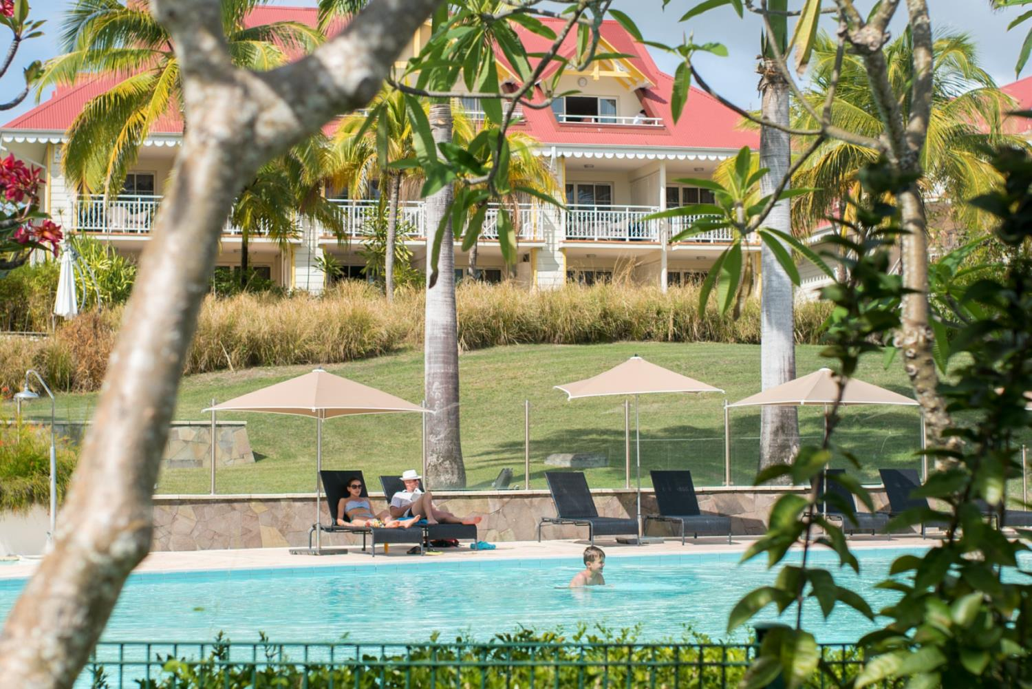 Holiday park Les Tamarins S2/3 p Sainte Anne 1