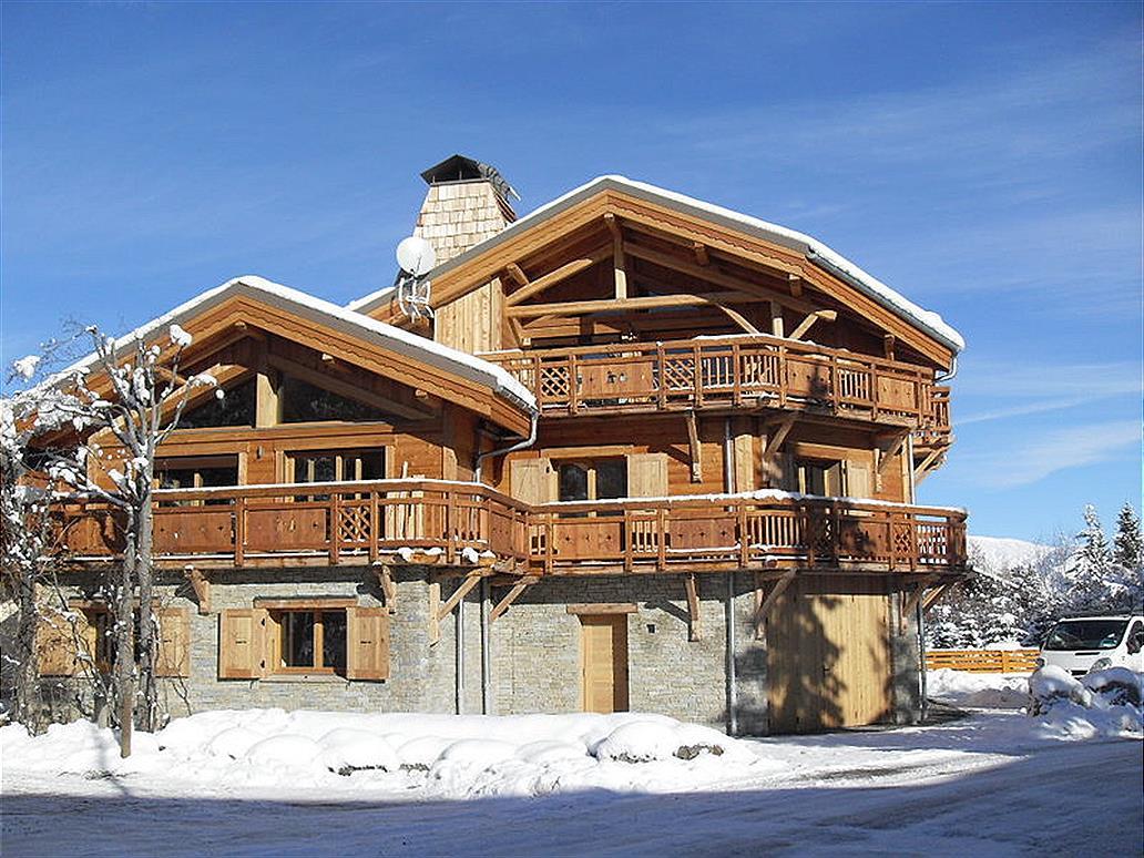 Villa Chalet Levanna Orientale 12p Les Deux Alpes 1