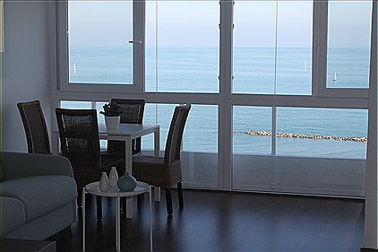 Studio-apartment with Pool, WiFi and Sea views - 104304