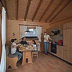 Ferienpark Haus 2 - Typ B (Blockhaus) Schönecken Miniaturansicht 11