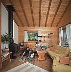 Ferienpark Haus 2 - Typ B (Blockhaus) Schönecken Miniaturansicht 9